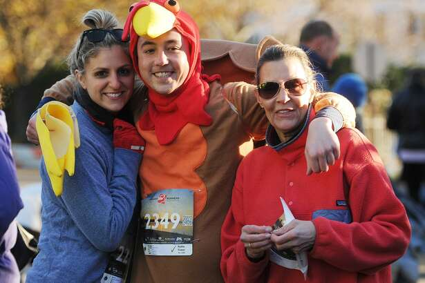 The annual Pequot Runners 5-mile Thanksgiving Day Road Race in Fairfield, Conn. on Thursday, November 23, 2017. Over 4000 runners registered for this year's race.