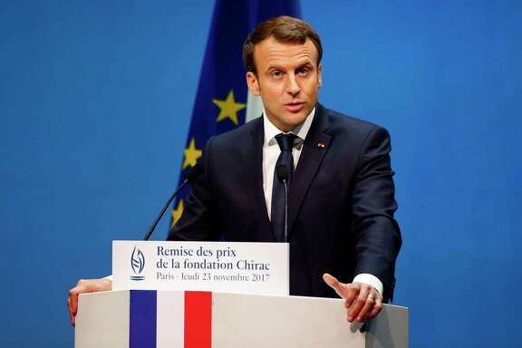 French President Emmanuel Macron has promised to reduce high labor costs, rigid work rules and confusing taxes that have sent companies fleeing France in recent years.
