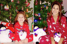 In December, 2014, Jordyn Caruso poses in front of the Christmas tree with two chubby snowmen she has had since she was 4 years old and took a similar photo. Now a senior at Alamo Heights High School, she hopes to major in education with a minor in journalism and photography.