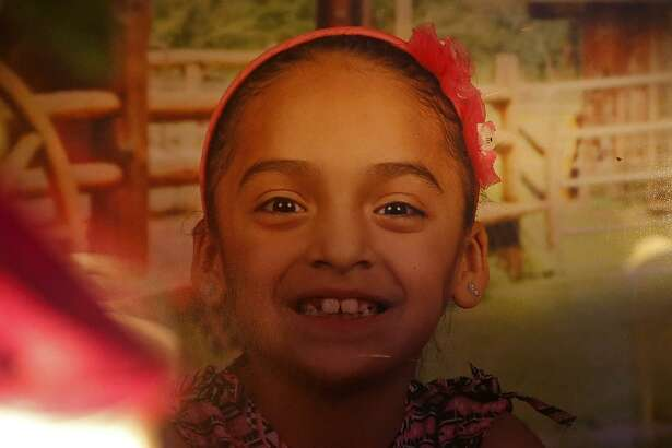 A photo of Delilah Hernandez, 10, who was killed in a shooting, Thursday Nov. 23, 2017 at her home in the 100 block of Harwood Drive.