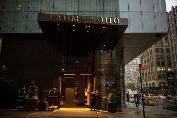 FILE — The Trump SoHo, a luxury condominium-hotel in Lower Manhattan, April 4, 2016. The Trump Organization has reached a deal that will allow the company to walk away from the New York property by the end of next month, the company said Nov. 22, 2017. (Todd Heisler/The New York Times) ORG XMIT: XNYT89