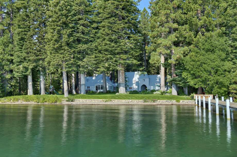3.5 acres and 200 plus feet of private lake front make up the Carousel Estate, originally for sale for $29.5M.