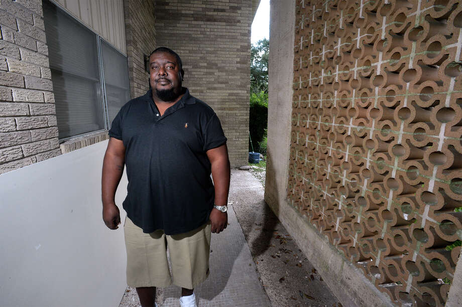 Darrell Smothers, known for his Cribs-style video from Tropical Storm Harvey, at his Port Arthur home on Friday. Photo taken Friday, November 17, 2017 Guiseppe Barranco/The Enterprise Photo: Guiseppe Barranco/The Enterprise
