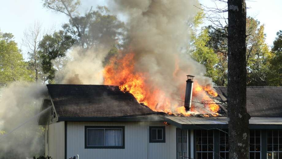 A home in the 2800 block of CR 4212 in Deweyville was destroyed by fire on Thanksgiving Day. Photos provided by Eric Williams. Photo: Provided By Eric Williams