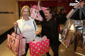 The Galleria, Houston   People shop for deals at The Galleria during Black Friday Friday, Nov. 24, 2017, in Houston.