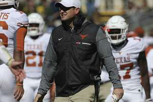Texas coach Tom Herman has talked to his players about leaving a positive legacy with today's finale and the bowl.