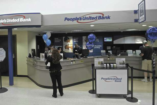 A People's United Bank branch in Danbury, Conn. As of September 2017, Connecticut banks were on pace for record profits for the year, according to newly updated figures published in late November 2017 by the Federal Deposit Insurance Corp.