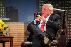 Rich Kinder shares about his brother's cancer during the MD Anderson Evening with a Living Legend featuring Rich Kinder on Wednesday, Nov. 15, 2017, in downtown Houston. (Annie Mulligan / Freelance)