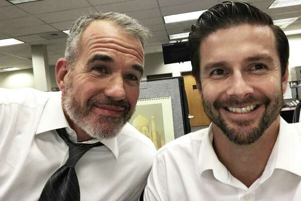 KENS-TV anchors Jeff Brady and Phil Anaya have gotten hairier for a cause — Movember or No-Shave November — which raise awareness of men's oft-ignored health issues.