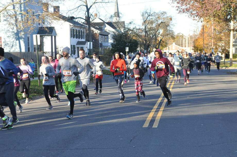 The 16th annual Stratford Turkey Day Trot was held on Thanksgiving morning – Thursday, Nov. 23, 2017. Were you SEEN at the start and finish of the 5K race? To see all the race photos, head to www.jlgdesigns.com. Photo: John Grant, JLGDesigns, Contributed