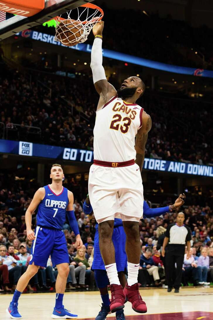 LeBron James is ranked No. 1 in the NBA.