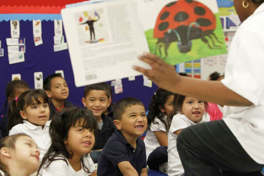 High-quality early learning opportunities, such as those offered through public pre-K programs, might be particularly important to help level the early playing field between students who come from more and less advantaged backgrounds at school entry. Photo: LM Otero, Associated Press / Internal