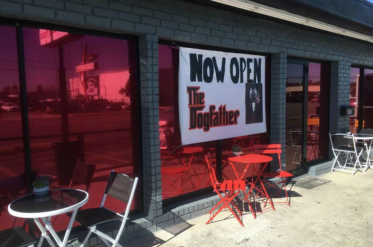 """The Dogfather, one of San Antonio's favorite spots for hot dogs so loaded you'll need a fork to eat them, is """"down, but not out"""" after suffering extensive water damage."""