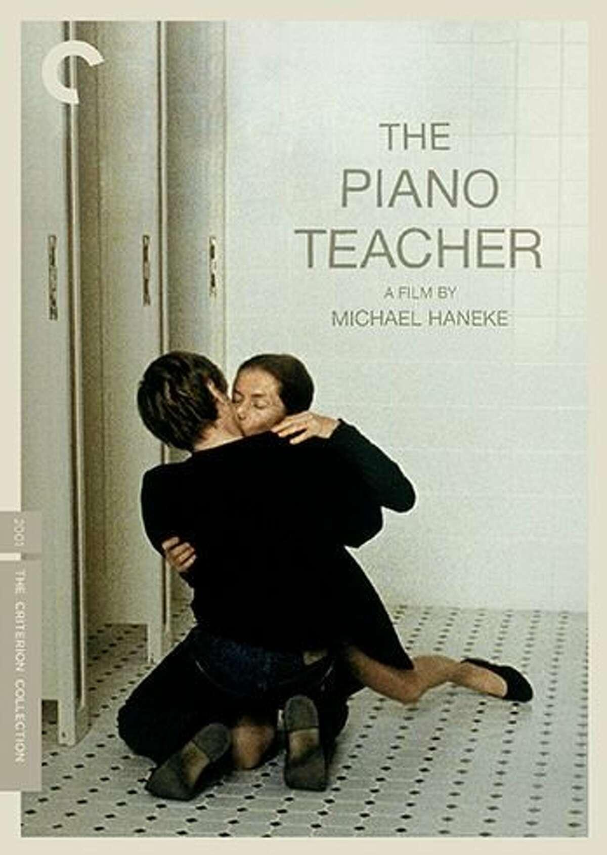 "DVD cover: ""The Piano Teacher"""