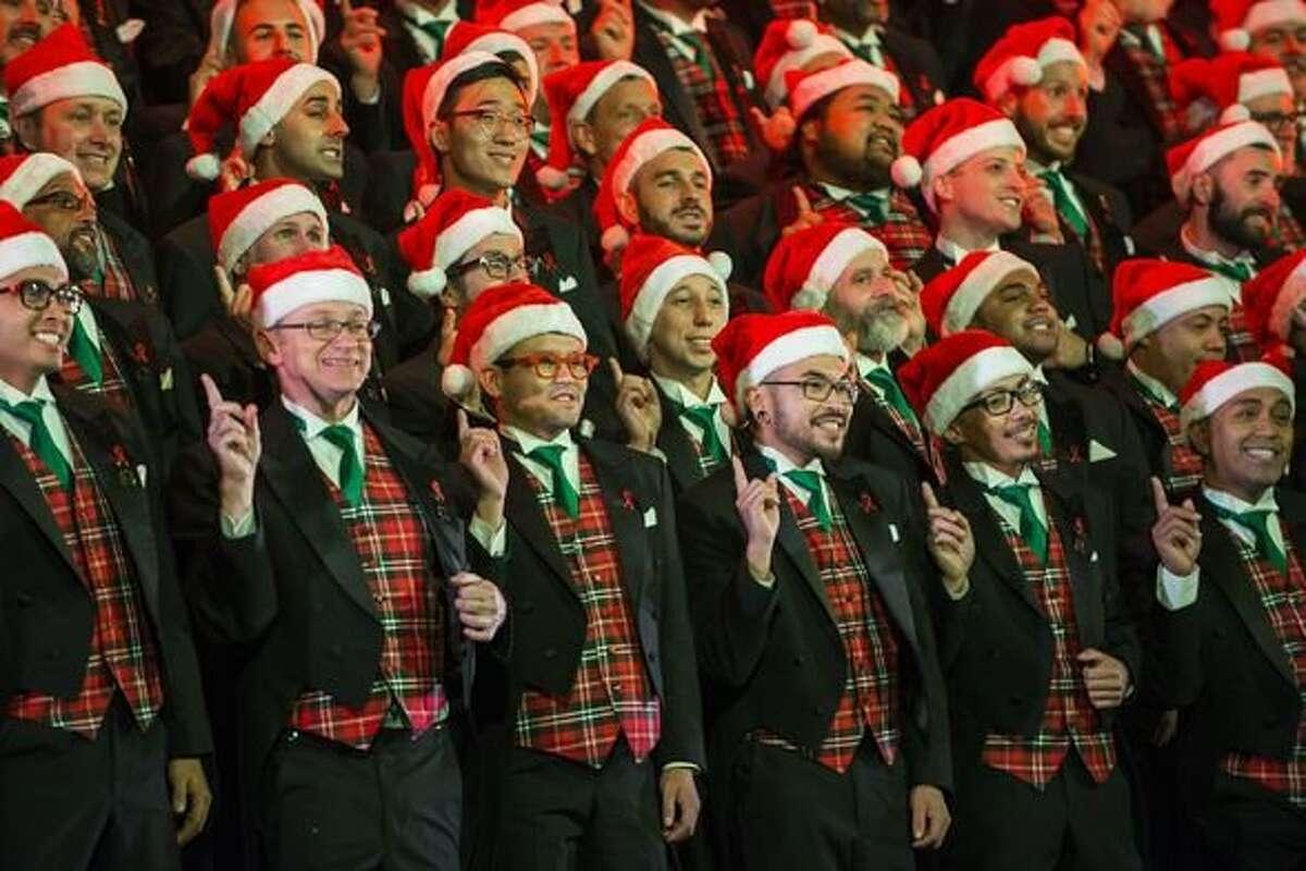 The San Francisco Gay Men's Chorus presents its holiday show,