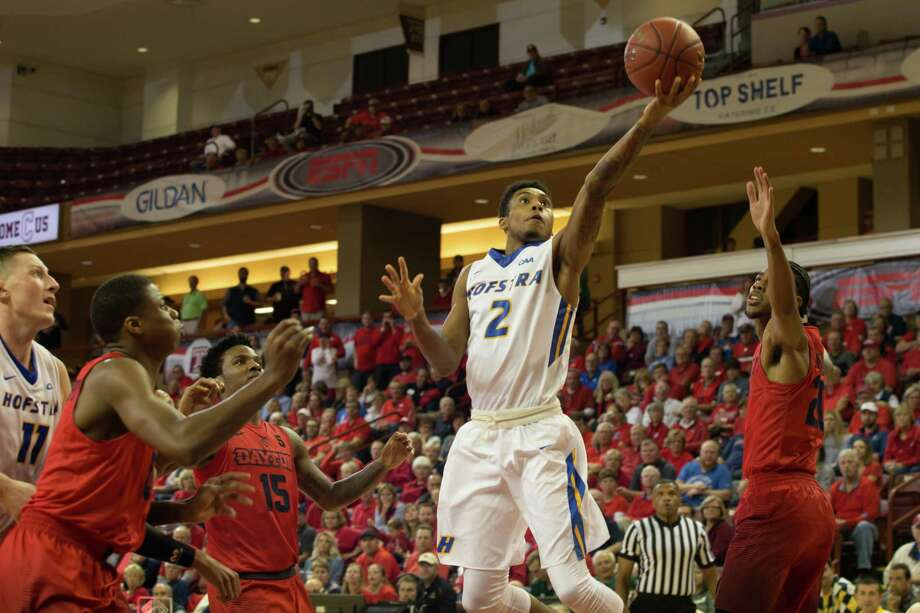 Former Siena guard Kenny Wormley is starting and averaging 5 ppg at Hofstra. (Hofstra athletic communications) Photo: Al Samuels
