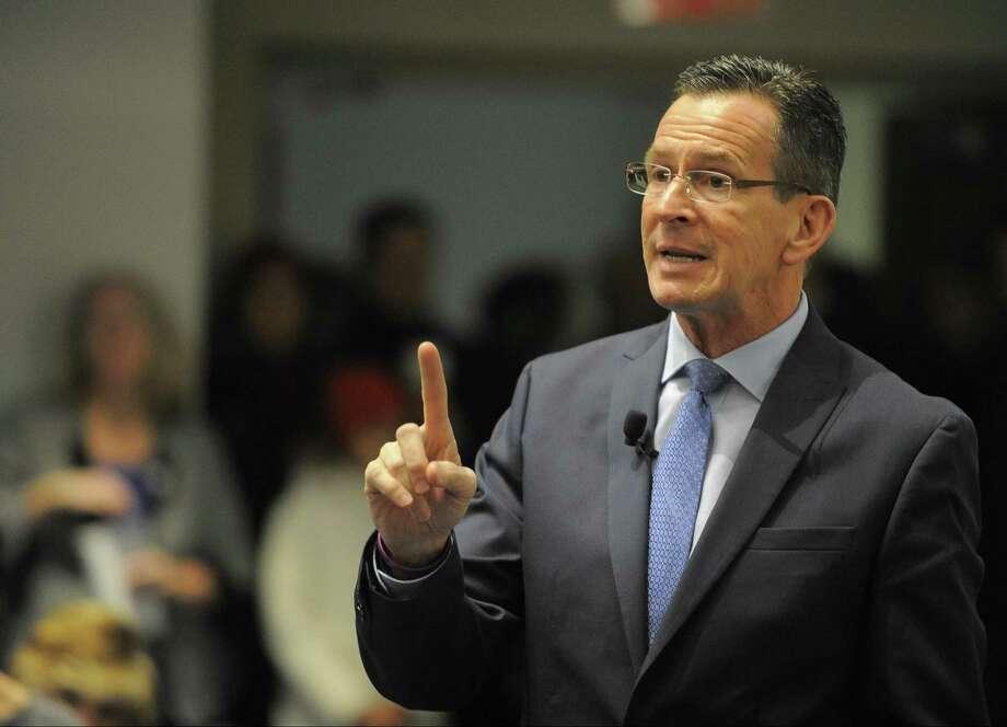 Gov. Dannel P. Malloy Photo: Matthew Brown / Hearst Connecticut Media / Stamford Advocate