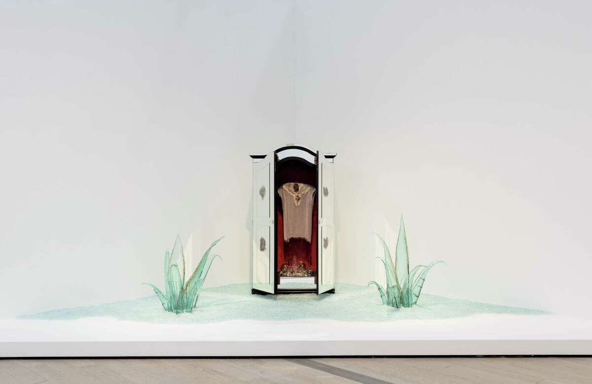 """Amalia Mesa Bains' """"Transparent Migration"""" is among works on view in """"Home: So Different, So Appealing."""""""