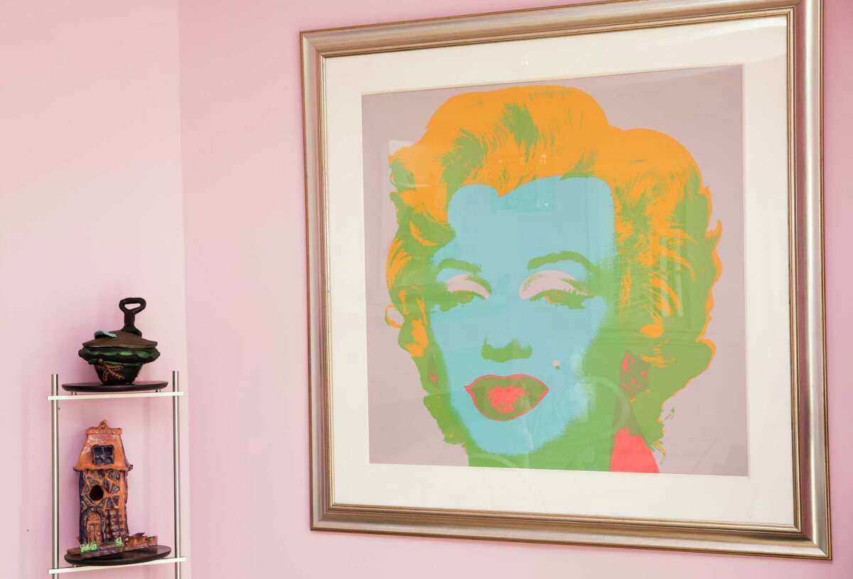 Judy Nyquist's home is filled with art and is eclectic Friday, Oct. 13, 2017, in Houston. ( Yi-Chin Lee / Houston Chronicle )
