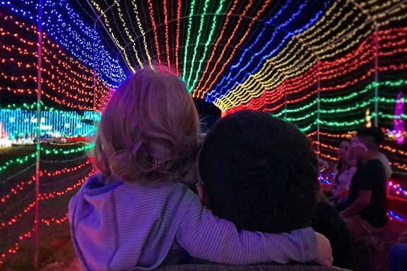 Experience a Texas-size Christmas at Santa's Wonderland in College Station.