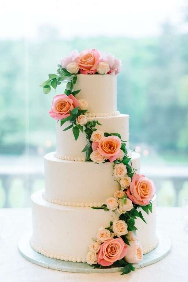 Wine Wedding Cake