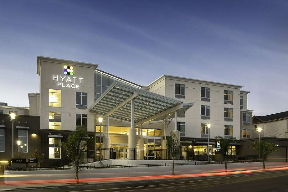 The front exterior of the new Hyatt Place Santa Cruz. Photo: Hyatt Place Santa Cruz
