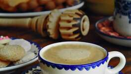 Melissa Guerra's Mexican Hot Chocolate is served with Mexican pastries at La Merienda at the Westin Riverwalk.