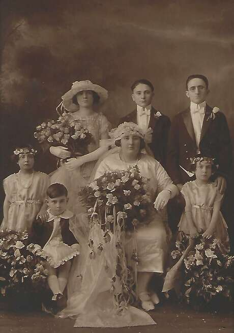The Bethel Historical Society, along with Occasions Bridal in Bethel, have united to present a vintage and contemporary bridal gown exhibition through Dec. 1. Photo: Contributed Photo / Connecticut Post contributed