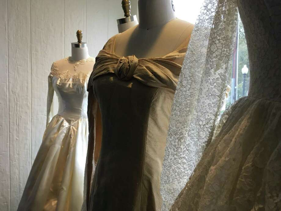 The Bethel Historical Society, along with Occasions Bridal in Bethel, will present a bridal gown exhibition through Dec. 1. Photo: Christina Hennessy / Connecticut Hearst Media