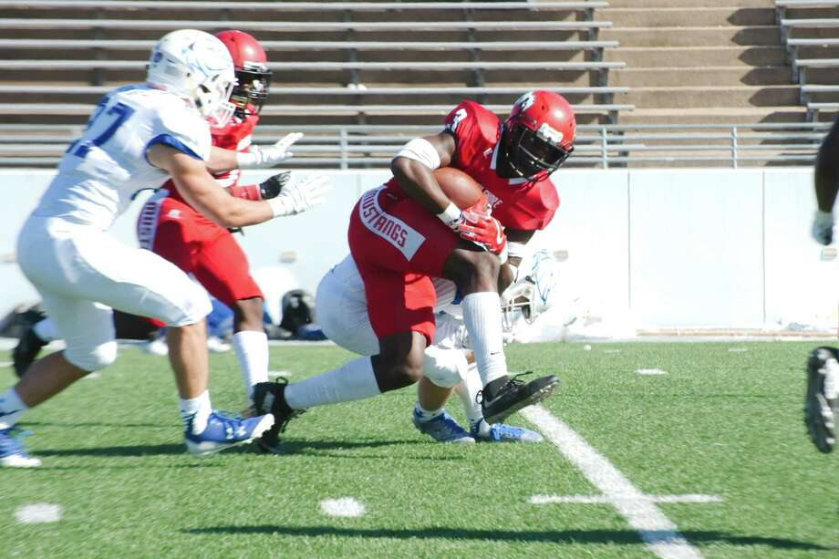North Shore running back Zach Evans (3) rushed for 232 yards and scored seven touchdowns in a playoff win over Clear Springs. Photo: Kirk Sides / © 2017 Kirk Sides / Houston Chronicle