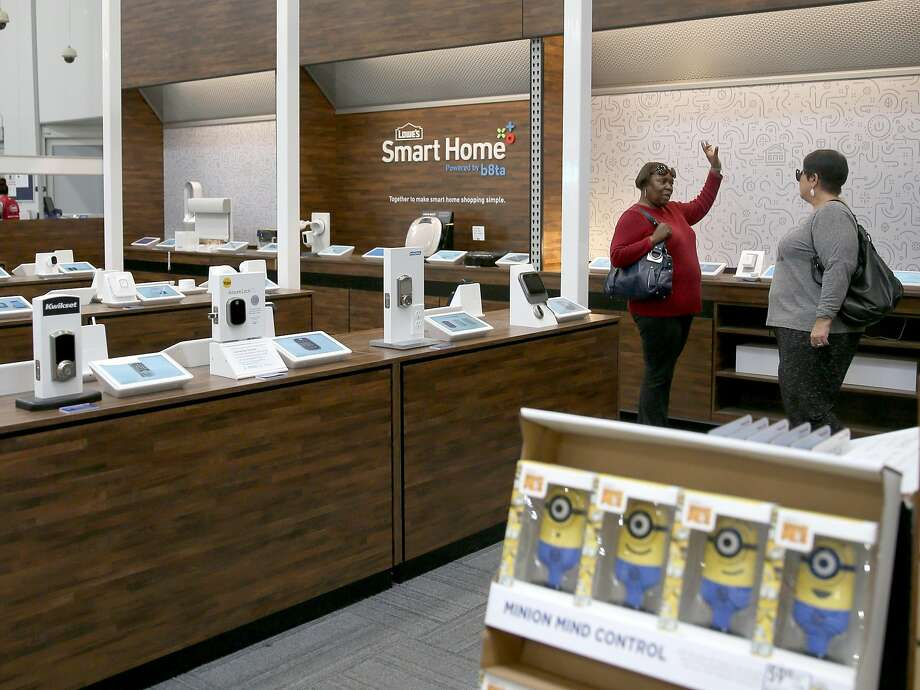 Lowe's SmartSpot location run by b8ta on Wednesday, November 22, 2017, in Antioch, Calif. Photo: Liz Hafalia, The Chronicle