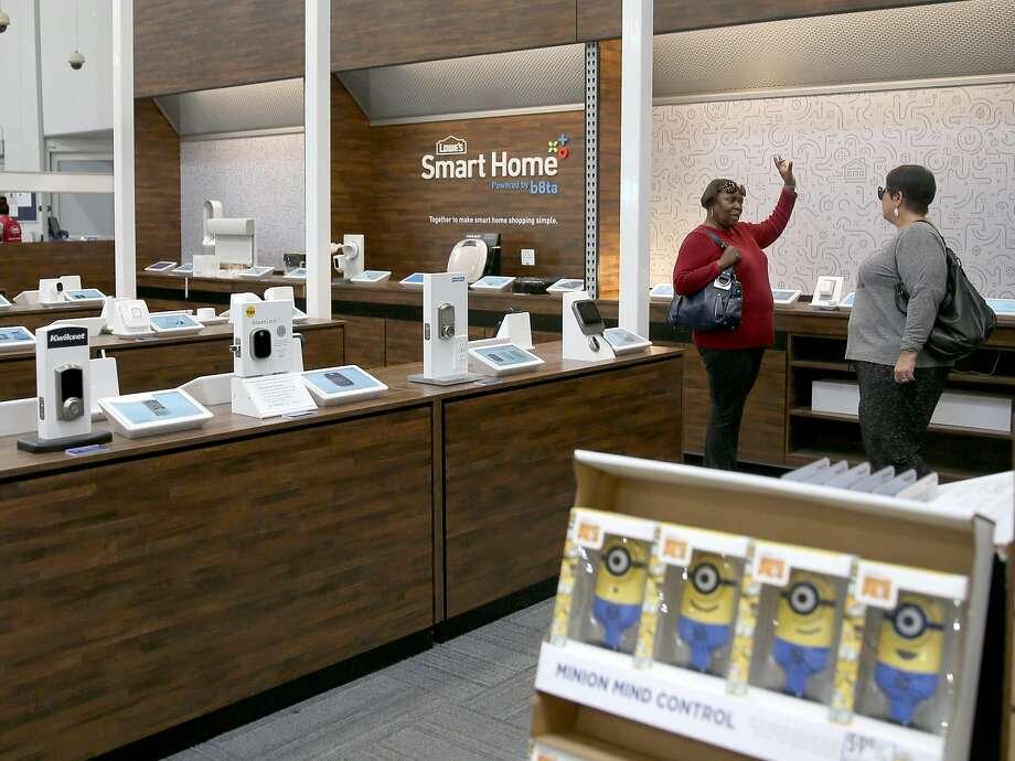 Lowe's SmartSpot location run by b8ta on Wednesday, November 22, 2017, in Antioch, Calif. Photo: Liz Hafalia, The Chronicle