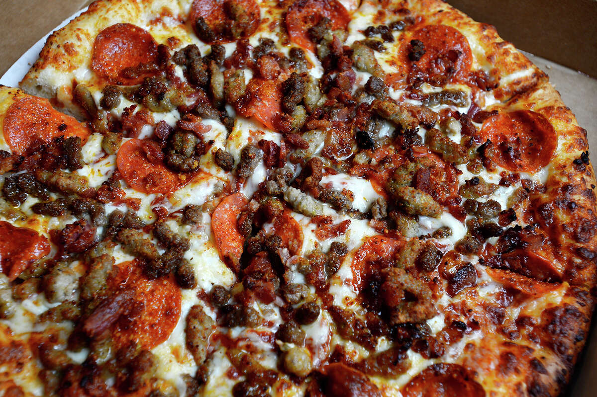 A meat lover's pizza at Candy's Southern Skillet north of Silsbee. Photo taken Tuesday 11/21/17 Ryan Pelham/The Enterprise