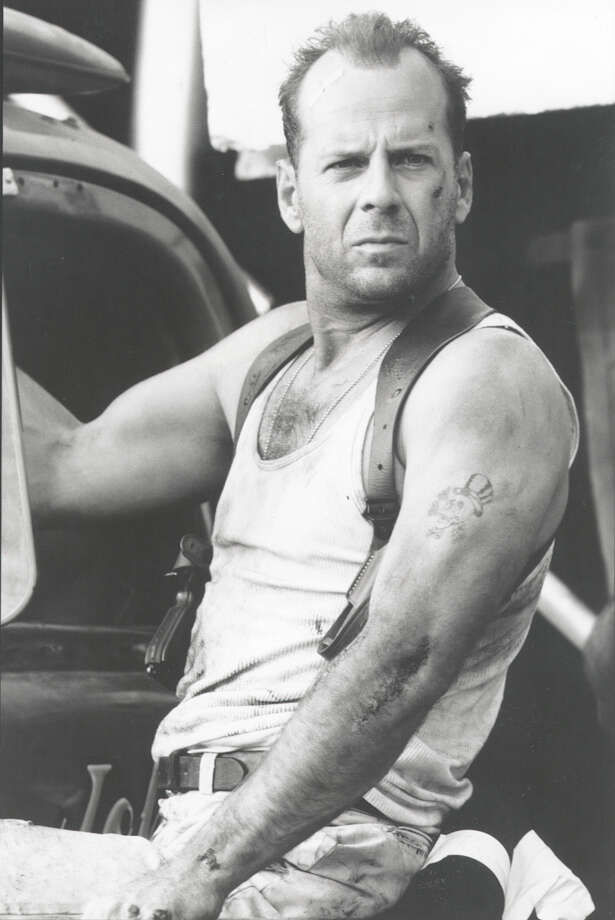 """Die Hard,"" starring Bruce Willis, is one of the ""holiday"" films on offer from Rooftop Cinema this season. Photo: BARRY WETCHER / 1995 20TH CENTURY FOX"