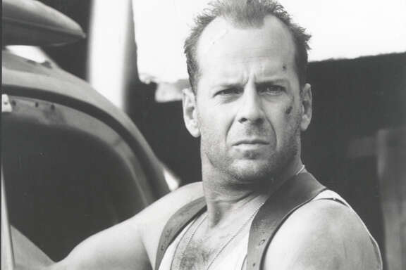 "ISIS videos suggest recruits can become heroes like Bruce Willis in the ""Die Hard' films."