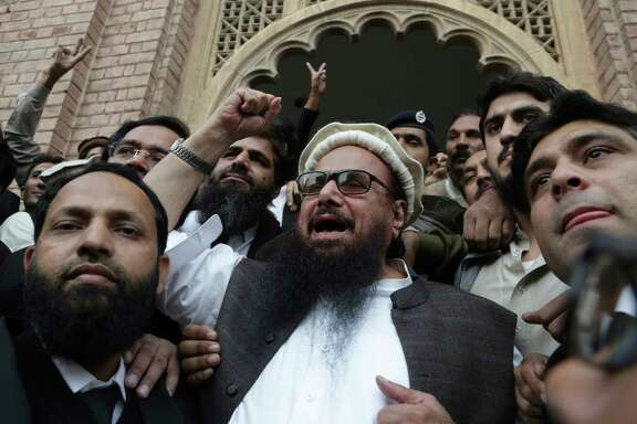 """I am not struggling for any personal gains,"" Hafiz Saeed told supporters after a court ended his detention. Saeed is head of Jamaat-ud-Dawa, which is allegedly linked to a Mumbai terrorist attack that killed 168 people."