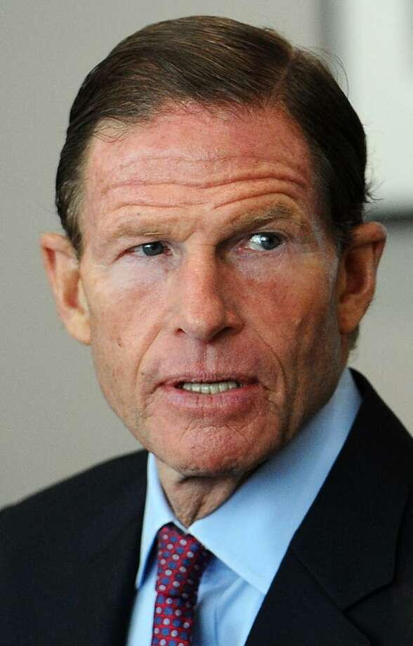 Blumenthal Photo: Michael Cummo / Hearst Connecticut Media / Stamford Advocate