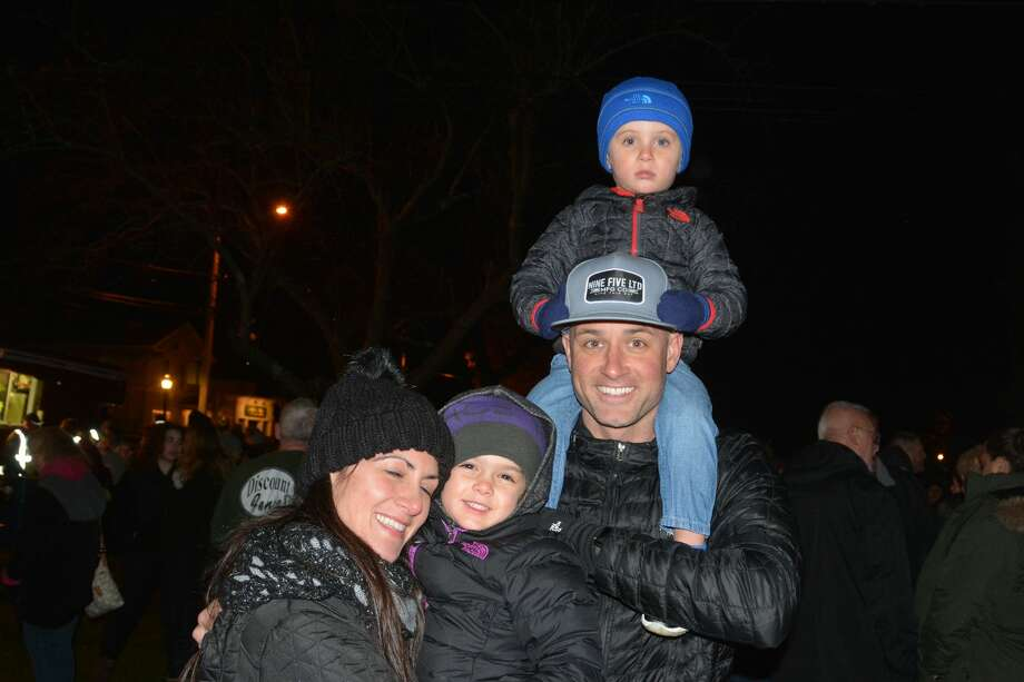 Milford held its annual tree lighting on the Green on November 24, 2017. Families enjoyed music from the Milford Concert Band and DJ Sheila. Santa also made a special appearance by firetruck. Were you SEEN? Photo: Vic Eng / Hearst Connecticut Media Group