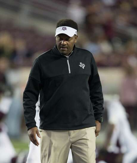 Texas A&M coach Kevin Sumlin goes into Saturday's game at LSU looking for his first victory over the Tigers in six seasons. Photo: Bob Levey, Contributor / 2016 Bob Levey
