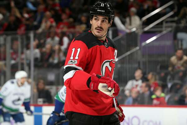 premium selection 07bed 6b37a Brian Boyle scores on 'Hockey Fights Cancer Awareness Night ...