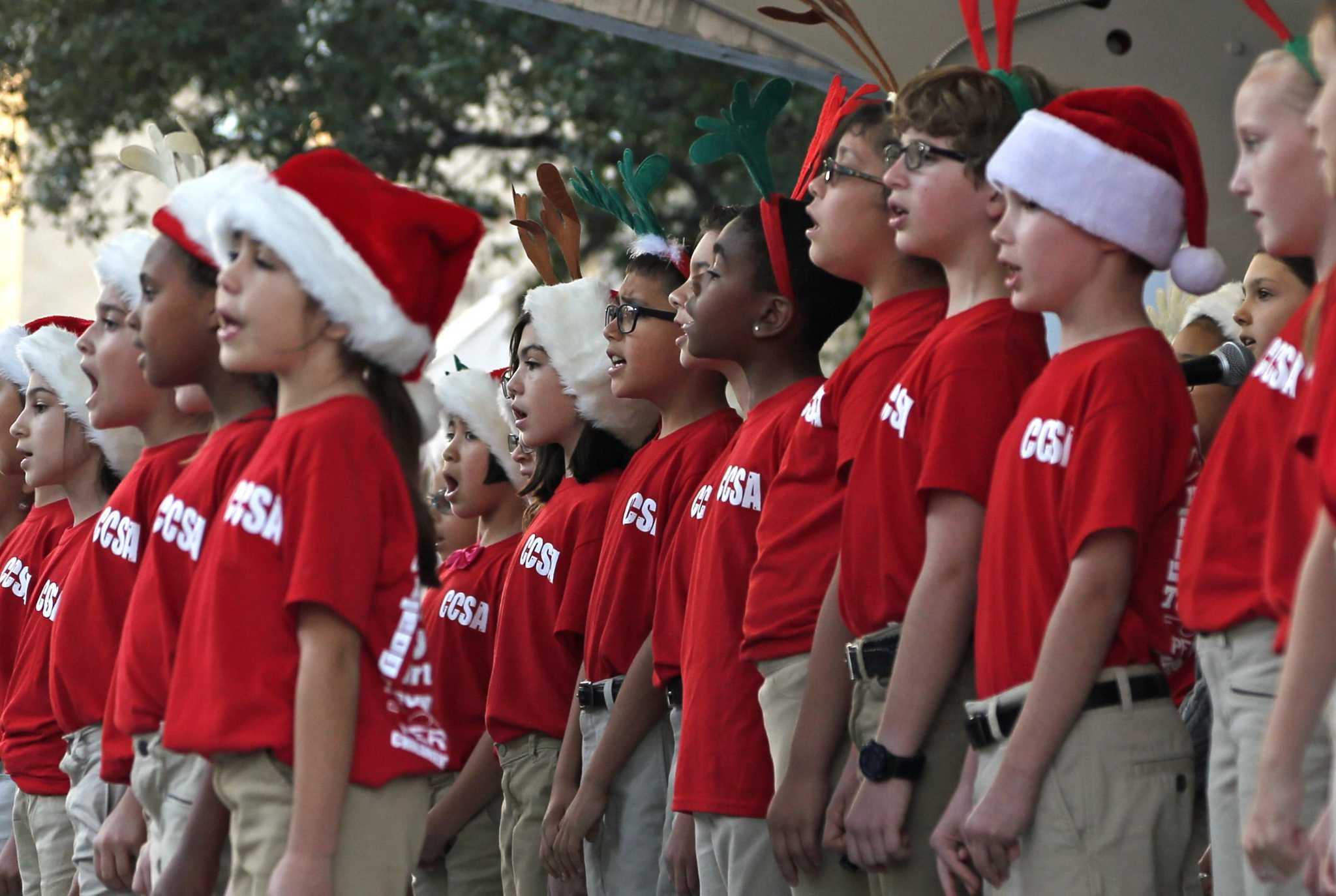 Mix of old and new as San Antonio kicks off holiday season