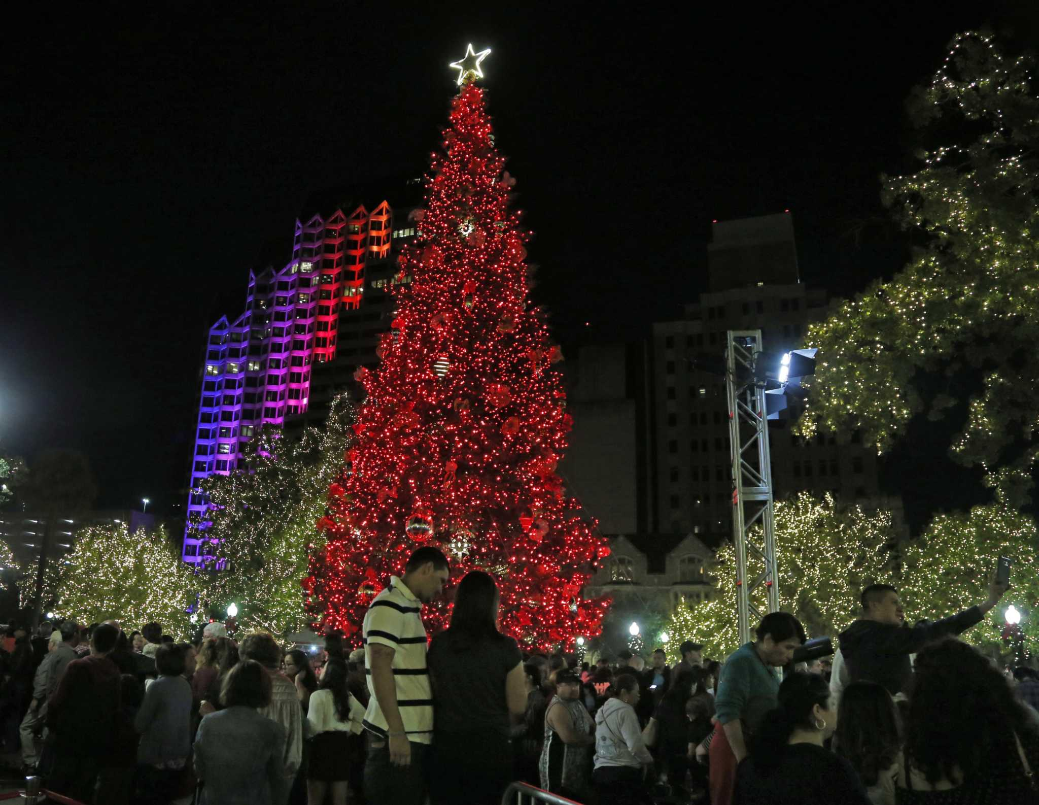 mix of old and new as san antonio kicks off holiday season expressnewscom