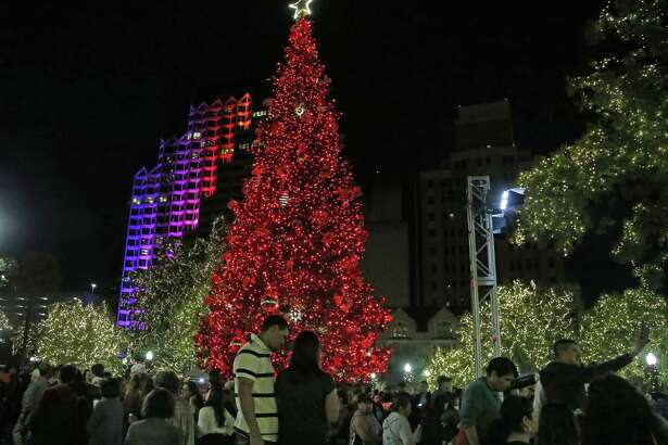 With the holiday season already in full swing, there's no shortage of merriment and fun to be had. From visits with Santa to caroling down the River Walk to eating as many tamales as humanly possible, here's how you can celebrate in and around San Antonio.