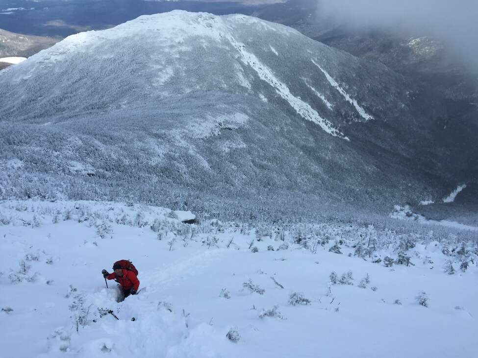 Rescue crews searched for two lost hikers in the Adirondacks in below-freezing temperatures with wind chills below zero and upwards of 3 feet of snow. (New York State Department of Environmental Conservation)
