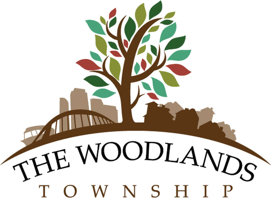 The Woodlands Township recently adopted a new logo to represent its expansion to a community-wide special district. The logo includes a single large tree in the center, with businesses on one side and homes on the other. The logo also features the Lake Robbins Bridge and The Woodlands Waterway Taxi. It was designed by Woodlands resident and artist Jeff Peterson. / handout