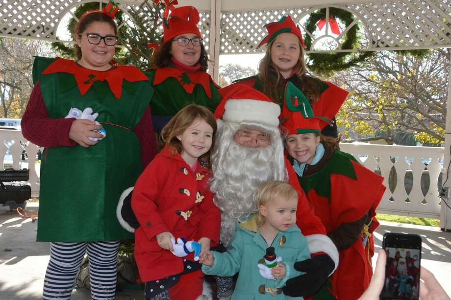 Santa stopped by the Sherman Green-Fairfield Center on November 25, 2017. Children had the chance to sit with Santa and receive a small gift, enjoy horse and wagon rides, hot chocolate, holiday music and a petting zoo. Were you SEEN? Photo: Vic Eng / Hearst Connecticut Media Group