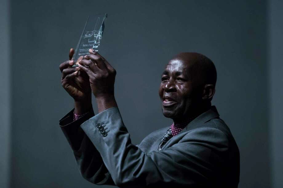 Pierre Claver Mbonimpa is the founder of the Association for the Protection of Human Rights and Detained Persons, which works for human rights in his native Burundi. Photo: Marie D. De Jesus, Houston Chronicle / © 2017 Houston Chronicle
