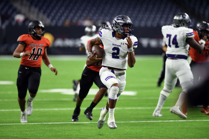 Roschon Johnson School: Port Neches-Groves Year: Senior Notes: Johnson's junior season - over 4,500 total yards and 65 touchdowns - was one of the best in Texas high school football history.
