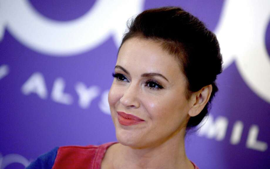 "Alyssa Milano, seen on Aug. 23, 2017, tweeted ""There are no background checks on long guns (AR15s) in Texas"" on Nov. 5, 2017. Photo: Dennis Van Tine /TNS / Abaca Press"