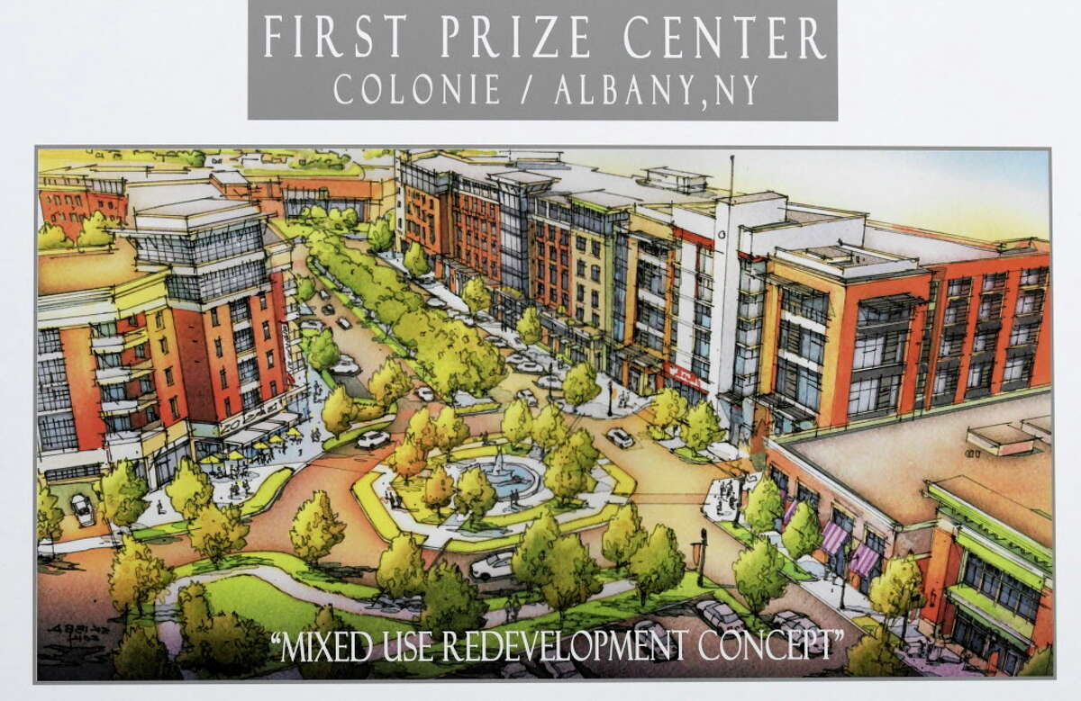 Artist rendering of the First Prize Center for which an announcement was made Thursday Dec. 15, 2016 about the redevelopment of the former First Prize Packing Company in Albany, N.Y.